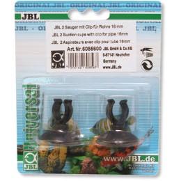 Ventosas con clip JBL 16mm