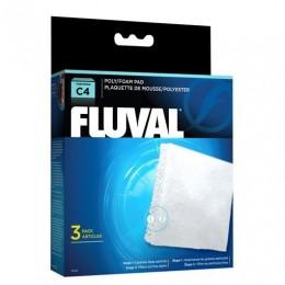 FOAMEX/POLIESTER para filtro FLUVAL C4
