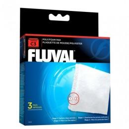 FOAMEX/POLIESTER para filtro FLUVAL C3